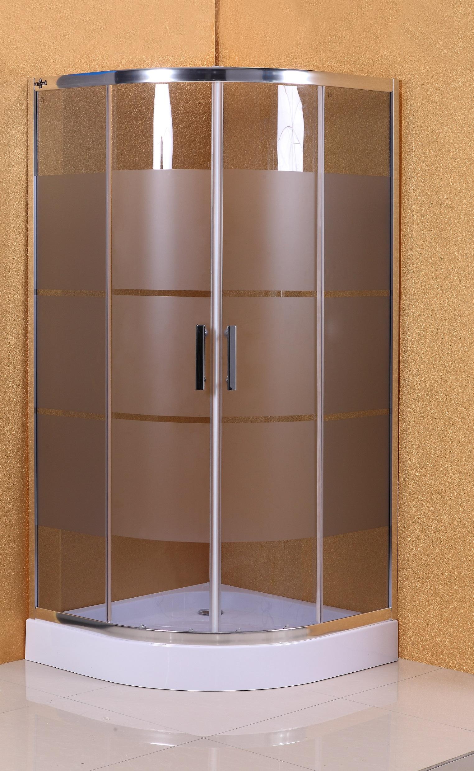 kabina prysznicowa z brodzikiem kosta lux 90x90